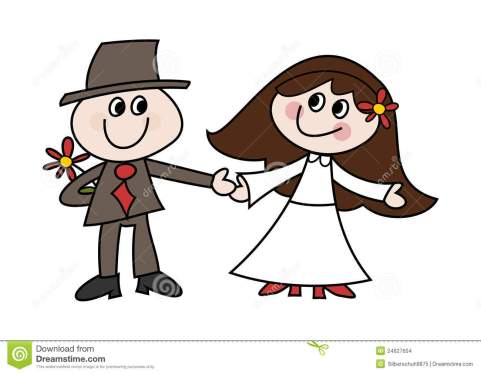 cute-cartoon-wedding-couple-24627604